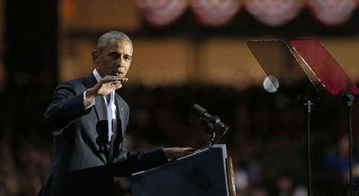 Obama se despide con llamado a la unidad
