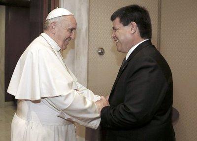 Cartes se reunirá con el papa Francisco