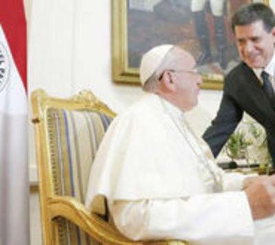 El Papa Francisco y Horacio Cartes se reunirán en Roma