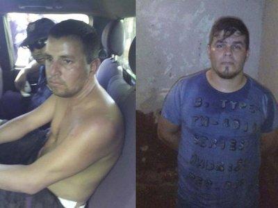 Caen dos robacoches tras tiroteo en Itapúa