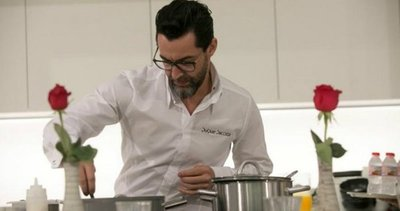 Chef cocina a familias de colombianos en conflicto