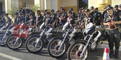 POLICÍA DEPARTAMENTAL RECIBIRÁ MOTOCICLETAS PARA PATRULLAS.