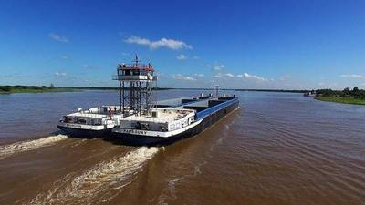 Paraguay construyó portacontenedor más grande de la hidrovía Paraguay-Paraná
