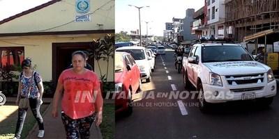 GRAN OPERATIVO POLICIAL TRAS PRIMER ATAQUE DE MOTOCHORROS