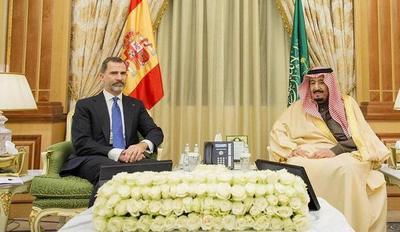 Rey Salman de Arabia Saudita recibe a Felipe VI