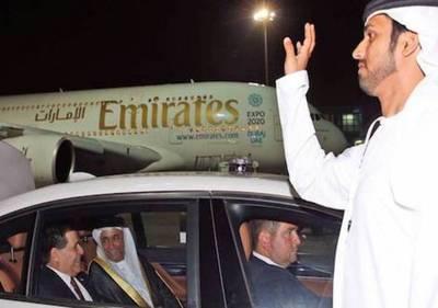 El Presidente Cartes llegó a Emiratos Árabes Unidos