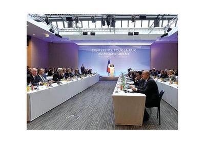 París da aliento al proceso de paz entre Israel y Palestina