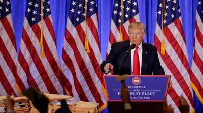 Donald Trump analiza  prohibir acceso de la  prensa a la Casa Blanca