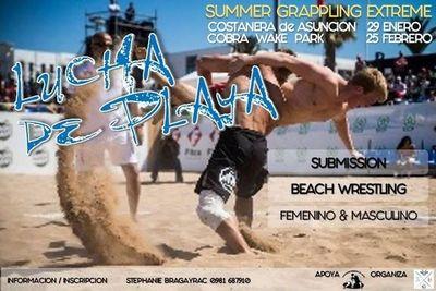 Circuito de verano de lucha de playa