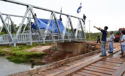 Otro puente metálico será instalado en Amambay