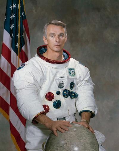 Murió el último astronauta en caminar en la Luna