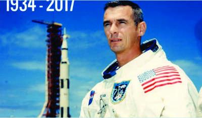 Murió el último hombre que pisó la luna