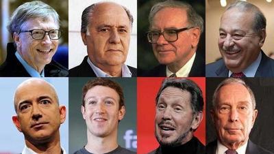 Ocho poseen más dinero que la mitad de la población mundial