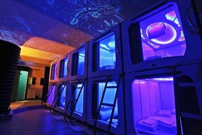 """""""Subspace"""", un hotel con cápsulas espaciales en lugar de habitaciones"""