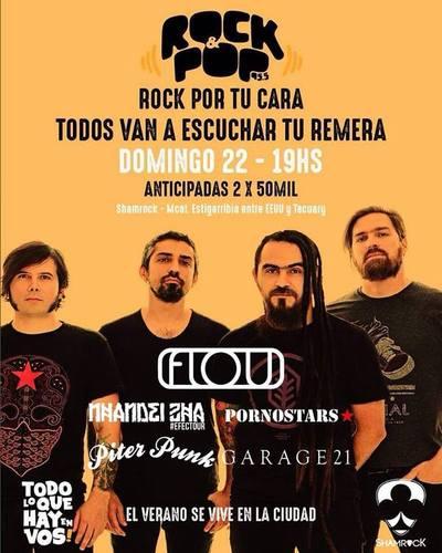 'Rock por tu cara; todos van a escuchar tu remera': el nuevo show de la 'Rocka'