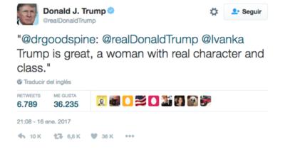 Otra Ivanka salta a la fama gracias a Trump