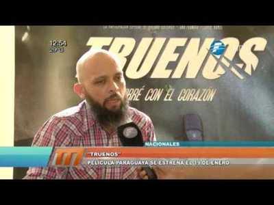 """La película nacional """"Truenos"""" se estrena en enero"""