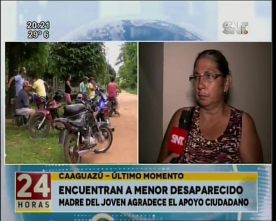 Se sospecha de un autosecuestro en Caaguazú