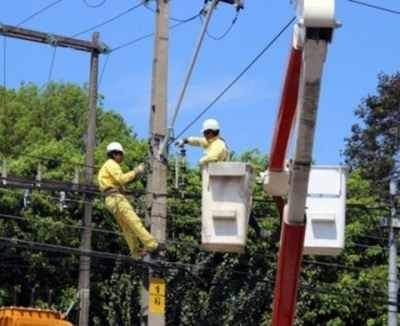 Cortes programados de energía en zonas de Asunción y San Lorenzo