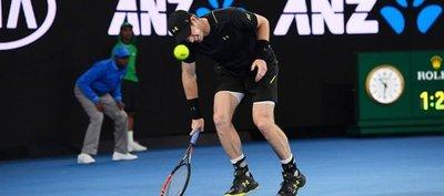 Andy Murray imparte una clase al joven Rublev