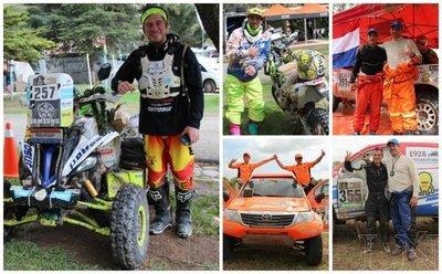 Reconocerán a pilotos paraguayos del Dakar