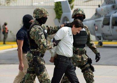 """México extradita al """"Chapo"""" Guzmán"""