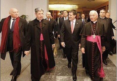 El papa Francisco recibe hoy a Cartes