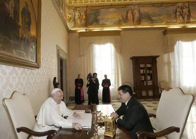 HC y papa Francisco hablaron de la situación política y social en Latinoamérica