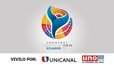 Unicanal transmitirá el Sudamericano Sub 20