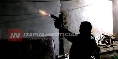 FISCAL RECIBIÓ DENUNCIAS POR DISPAROS AL AIRE