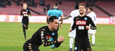 Callejón convierte al Napoli en el primer semifinalista de la Copa