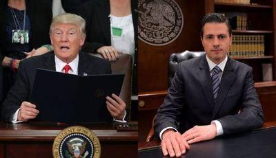Peña Nieto cancela su reunión con Trump