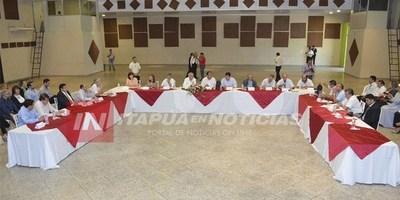 PRIMERA CUMBRE DE GOBERNADORES E INTENDENTES DE LOS 8 PUEBLOS JESUÍTICOS.
