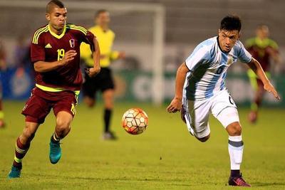 Sub 20: Empate que clasifica a Argentina y Venezuela