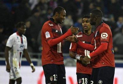 El Lille de Junior Alonso se impone al Lyon