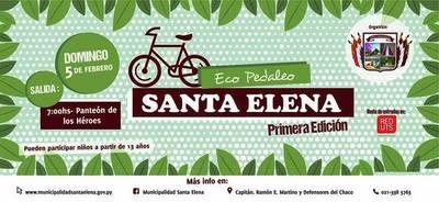 """En Cordillera se realizará este domingo el paseo ciclístico """"Eco Pedaleo"""""""