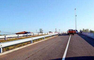 Ayer habilitaron dos viaductos sobre la Ruta III