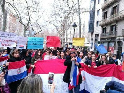 Controversia por manifestación paraguaya