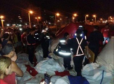 Propietario del tobogán: Es un accidente que lastima mucho