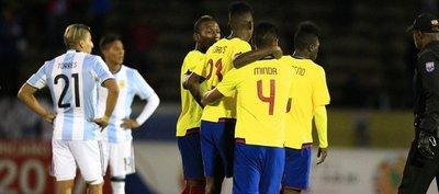 Ecuador respira y deja tocado a Argentina
