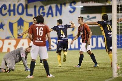 Goiri le dio el triunfo a Sportivo Luqueño