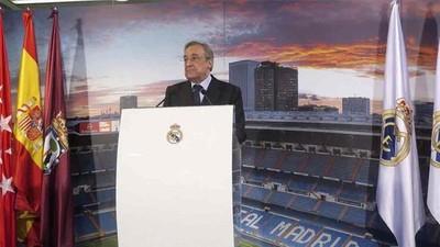 El Real Madrid se acordó de nuevo de la Superliga Europea