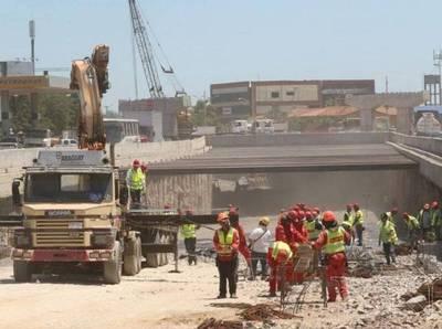 Superviaducto: Posponen cierre de tráfico por inconvenientes