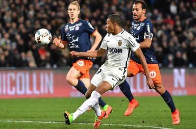 Mónaco sufre pero gana en su visita al Montpellier