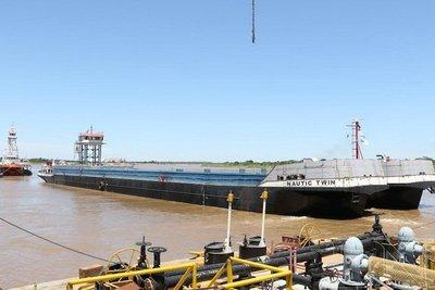 Fabrican el portacontenedor más grande que navegará la hidrovía