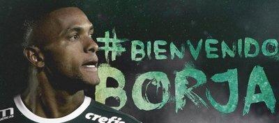 Miguel Borja, nuevo jugador del Palmeiras de Brasil