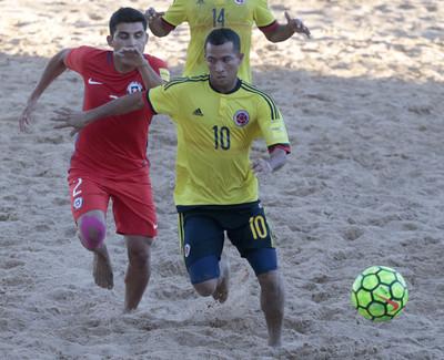 Playa: Chile quedó con el quinto lugar a expensas de Colombia