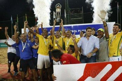Brasil reedita su trono continental en Paraguay