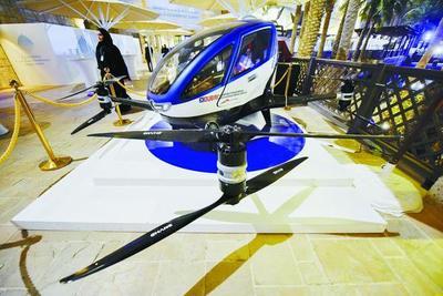 Dubái planea solucionar los atascos con un auto volador