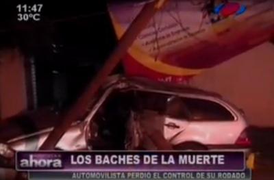 Baches causan muerte en San Lorenzo